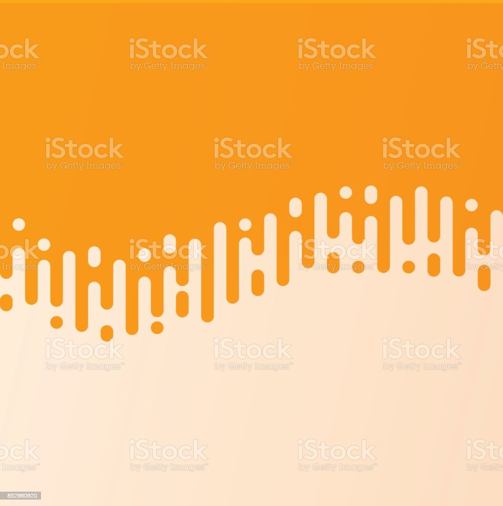 Abstract Wave Line Curved Line Transition vector art illustration