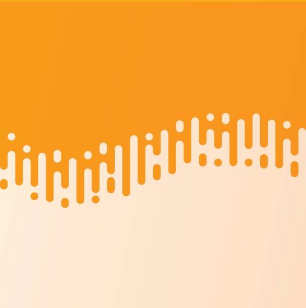 illustrazioni stock, clip art, cartoni animati e icone di tendenza di abstract wave line curved line transition - beige