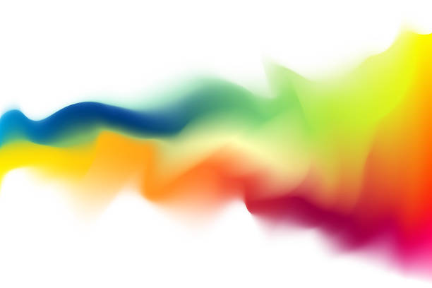 Abstract wave multicolored pattern Abstract wave multicolored pattern mixing stock illustrations