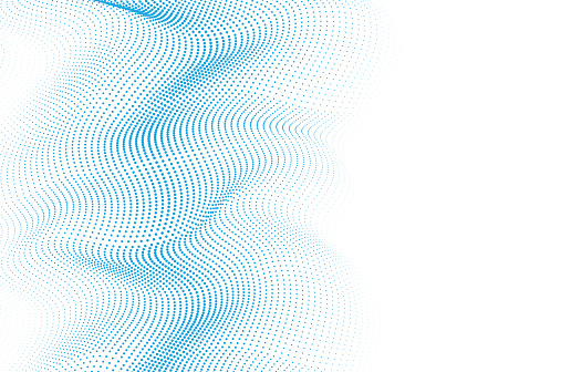 Abstract Wave Pattern Technology Background