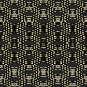 Abstract wave seamless pattern.