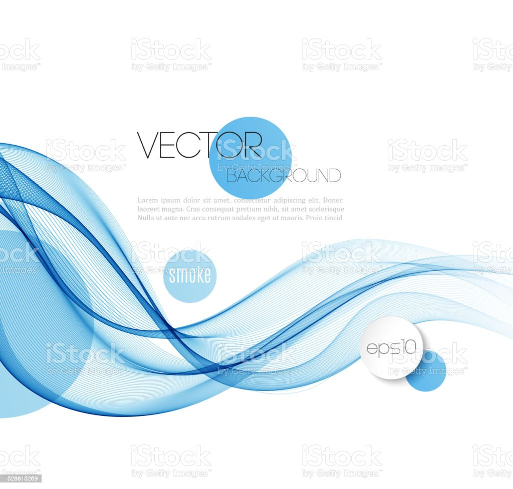 Abstract wave template  background brochure design vector art illustration