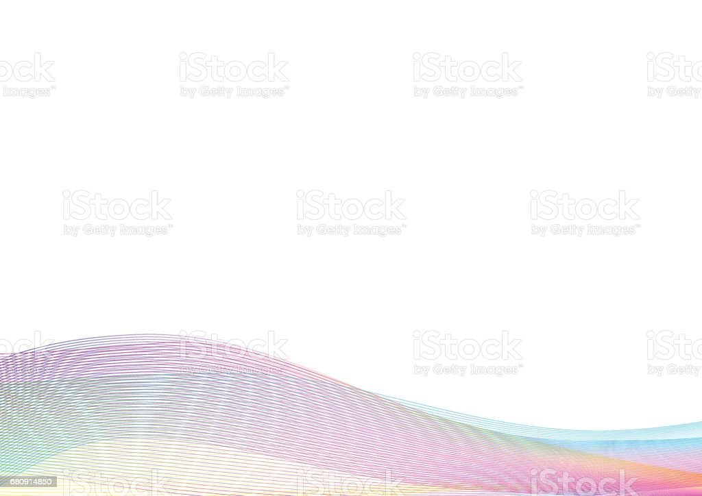 Abstract waves light background on a white for your design. royalty-free abstract waves light background on a white for your design stock vector art & more images of abstract