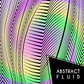 Abstract wavy background, optical art, opart striped