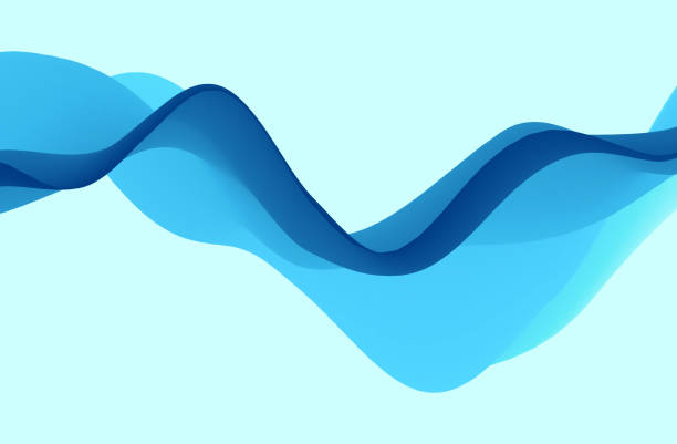 Abstract wavy background with dynamic effect. Motion vector illustration. Can be used for advertising, marketing, presentation. vector art illustration