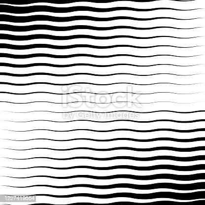 A wavy line pattern design
