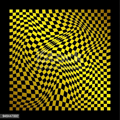 istock abstract wavy twisted distorted squares checkered gradient colored texture background 945447002