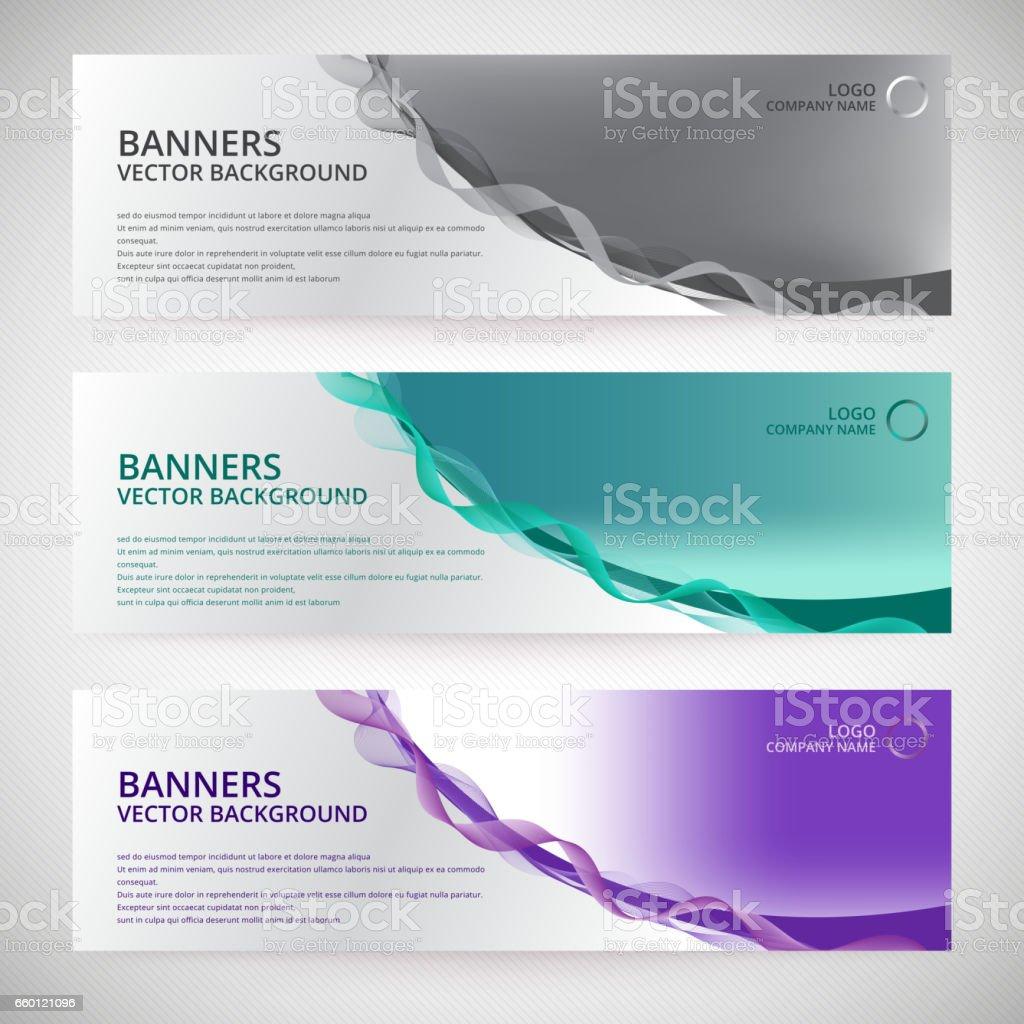 Ilustración de Resumen Antecedentes De Diseño De Banner Web O ...