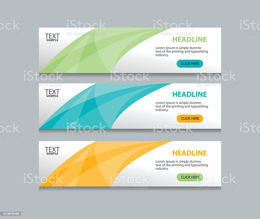 abstract web banner design template background stock vector art 613676496 istock. Black Bedroom Furniture Sets. Home Design Ideas