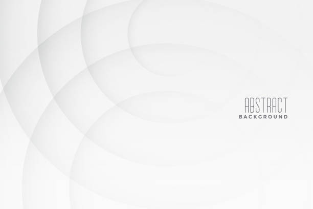 Bекторная иллюстрация abstract white and gray background with curve lines