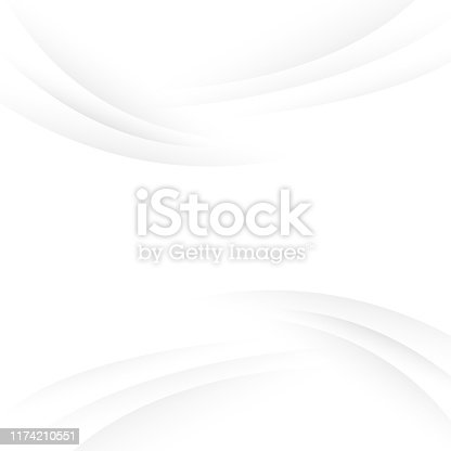 Abstract white and gray color geometric background subtle design.
