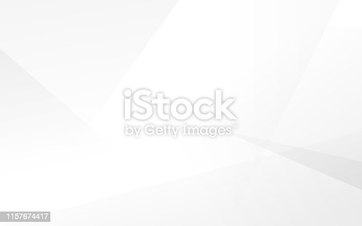 istock Abstract white and gray modern background. Vector Illustration 1157674417