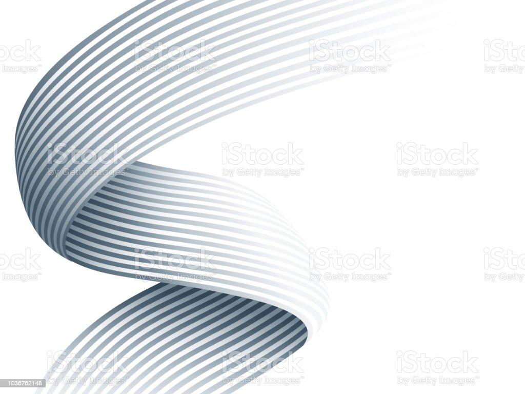 抽象的な白とグレー モダンなグラデーション背景壁紙 ベクター