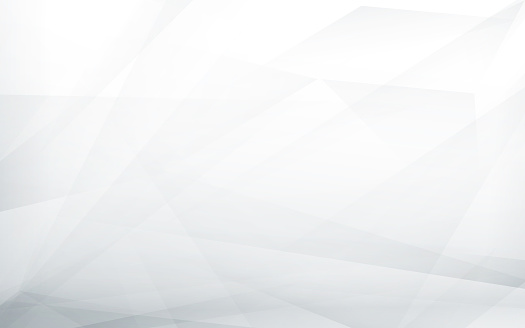 Abstract white and grey futuristic background. Vector illustration