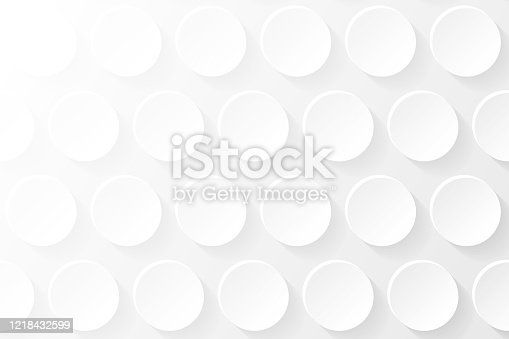 istock Abstract white background - Geometric texture 1218432599