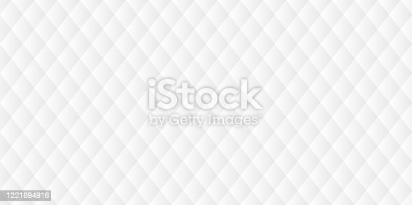 istock Abstract white background - Geometric texture 1221694916