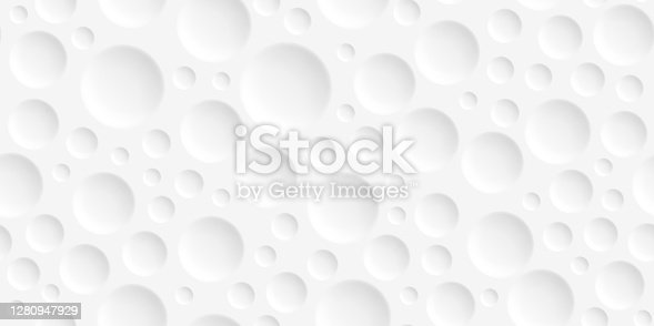 istock Abstract white background - Geometric texture 1280947929