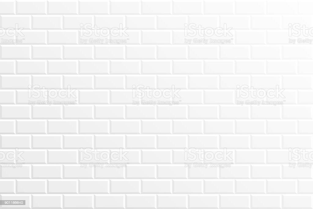 Abstrait blanc - texture géométrique - Illustration vectorielle