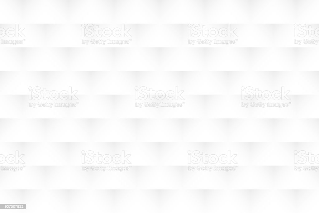 Abstract white background - Geometric texture vector art illustration