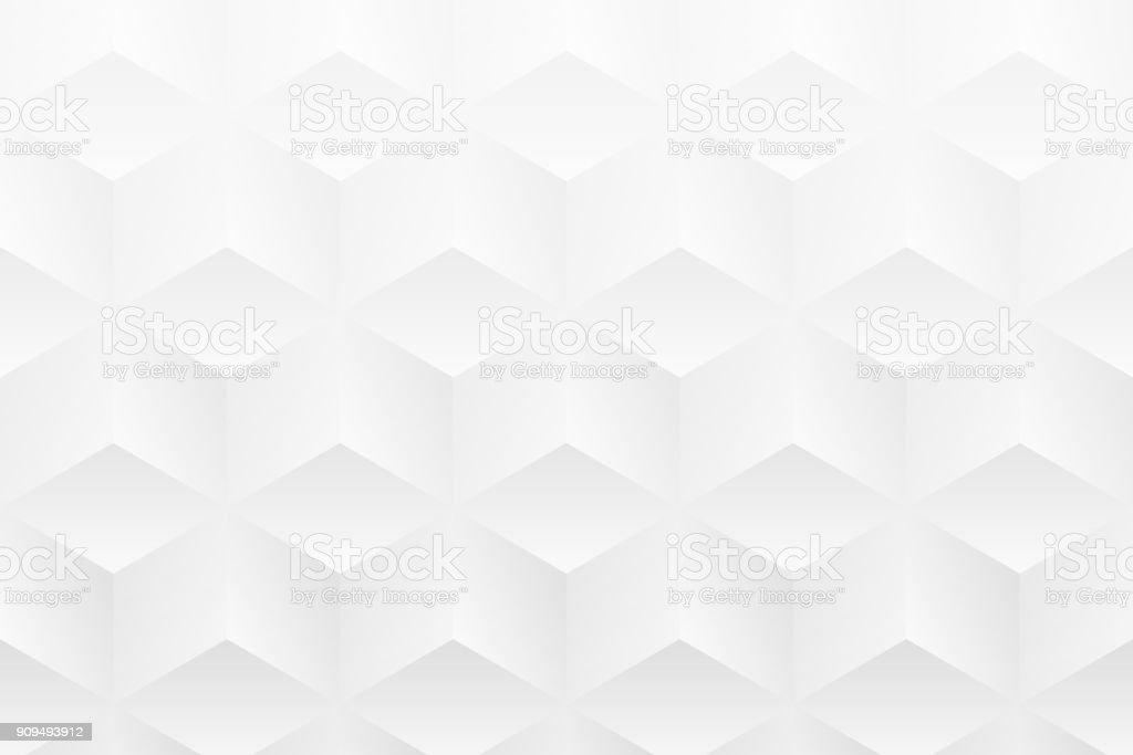 추상 흰색 배경-기하학적 인 텍스처 벡터 아트 일러스트