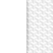 Modern and trendy abstract background (white geometric texture) with space for your text, can be used for your design. Vector Illustration (EPS10, well layered and grouped). Easy to edit, manipulate, resize or colorize. Please do not hesitate to contact me if you have any questions, or need to customise the illustration. http://www.istockphoto.com/portfolio/bgblue