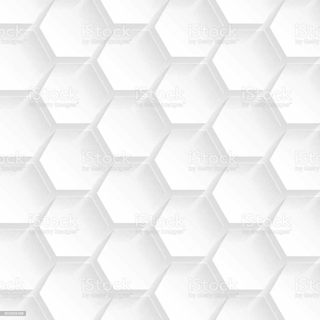 Abstract White Background Geometric Texture Stock