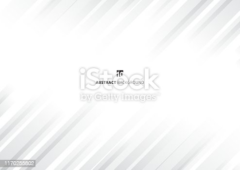 Abstract white background modern stripe gradient color oblique line texture. Vector illustration