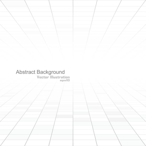 abstract white background of vision perspective. - angle stock illustrations