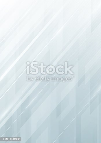 Modern white smooth abstract vector background