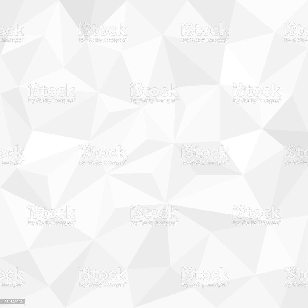 Abstrakter Weißer Hintergrund mit Dreiecken – Vektorgrafik