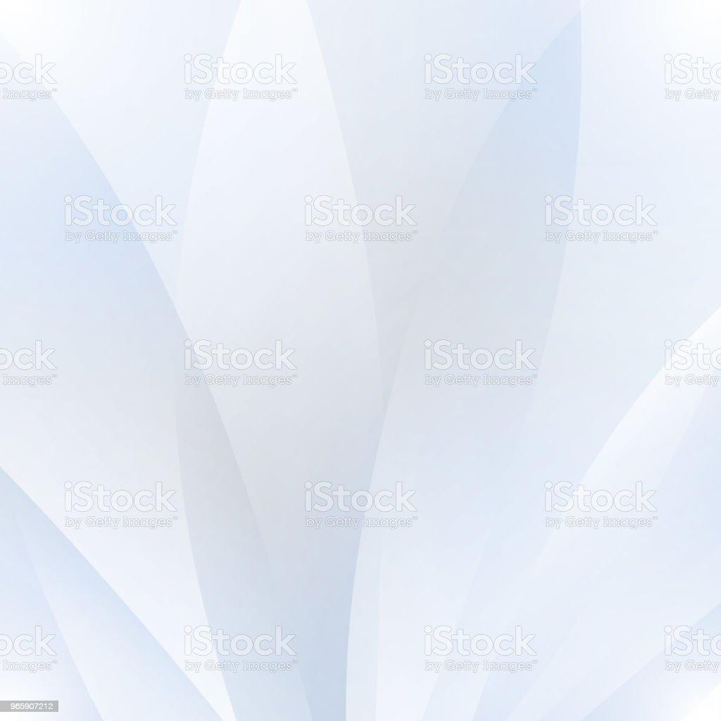 Abstracte witte achtergrond met golven en schaduwen - Royalty-free Abstract vectorkunst