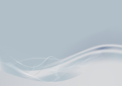 Abstract white curvy line background image