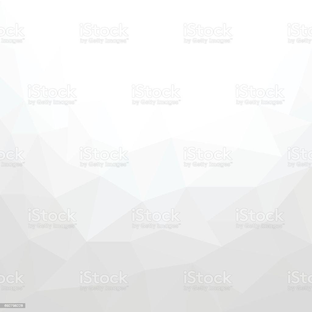 Abstrakte weißen geometrischen Hintergrund – Vektorgrafik