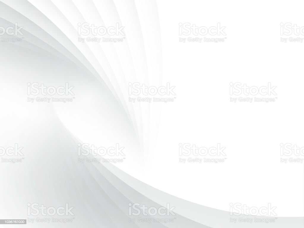 Abstract White Modern Gradient Background Wallpaper Vector