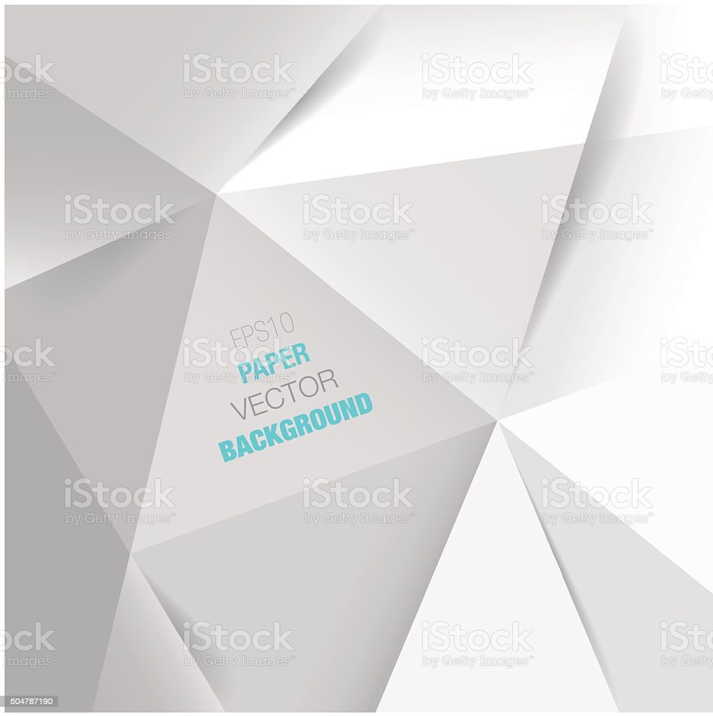 abstract white paper vector background vector art illustration