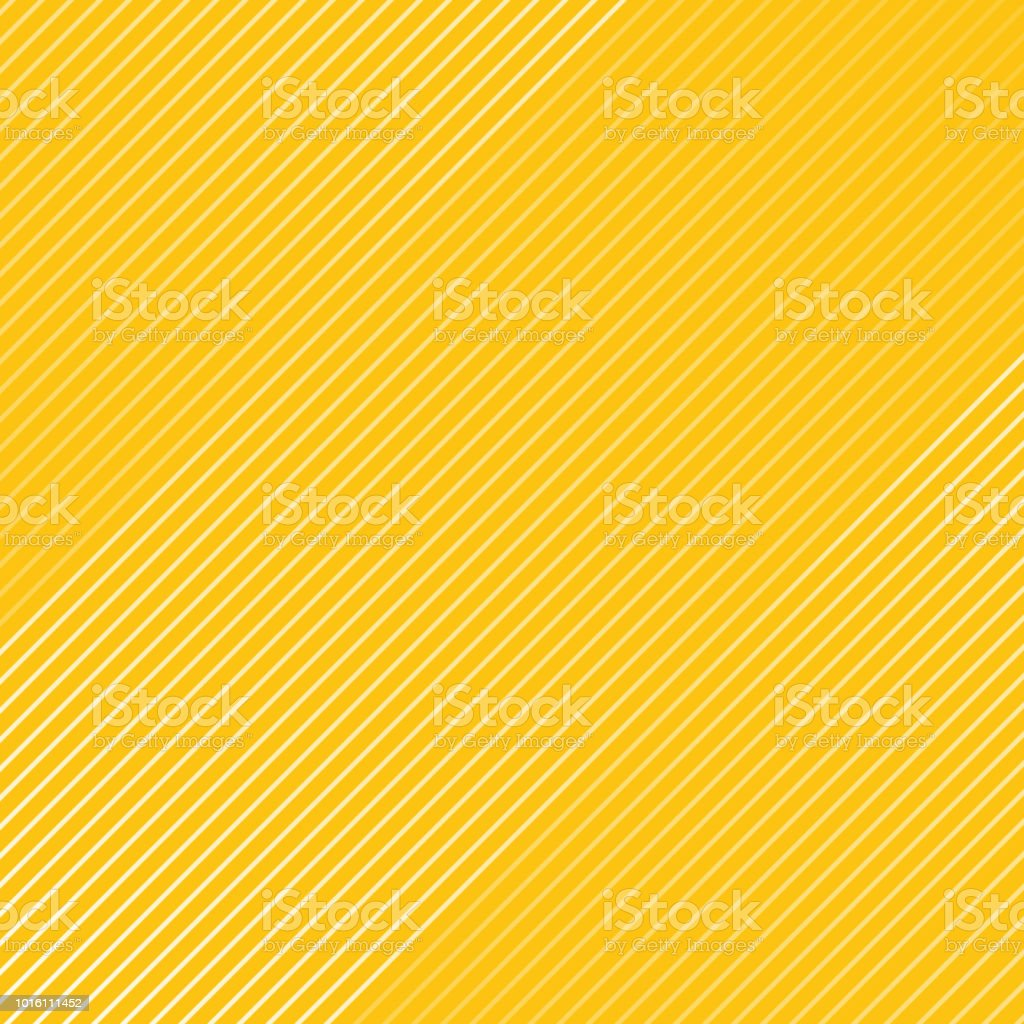 Abstract white striped lines pattern Diagonally texture on yellow color background. векторная иллюстрация