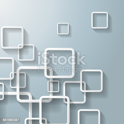 Abstract window rectangles. Eps 10 vector file.