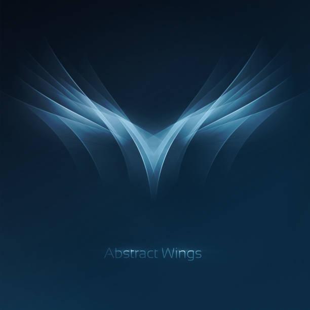 Abstract alas - ilustración de arte vectorial