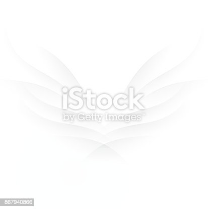 istock Abstract wings 867940866