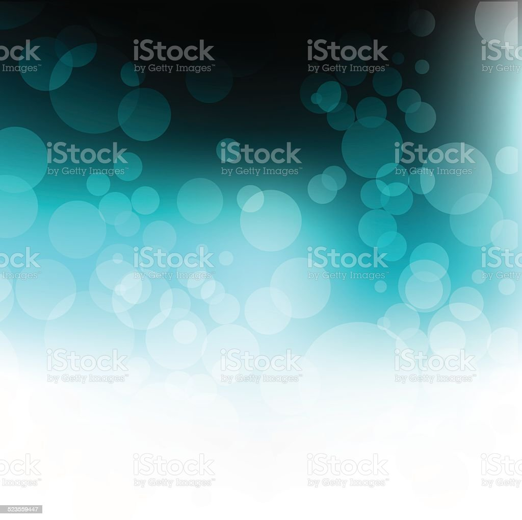 Abstract winter background. vector art illustration