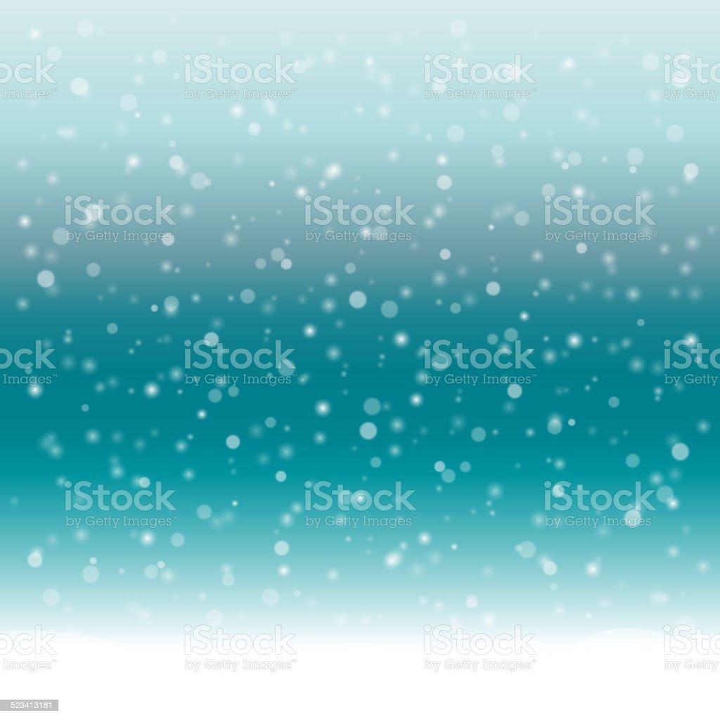 抽象的な冬の背景に雪 のイラスト素材 523413181 | istock