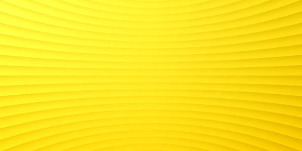 Abstract yellow background - Geometric texture vector art illustration