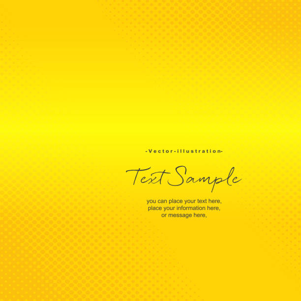 bildbanksillustrationer, clip art samt tecknat material och ikoner med abstrakt gul bakgrunder med halvton effekt - gul bakgrund
