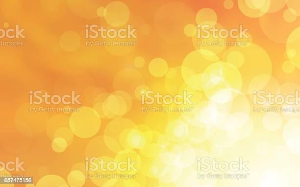 Abstract Yellow Circles Vector Design - Arte vetorial de stock e mais imagens de Abstrato