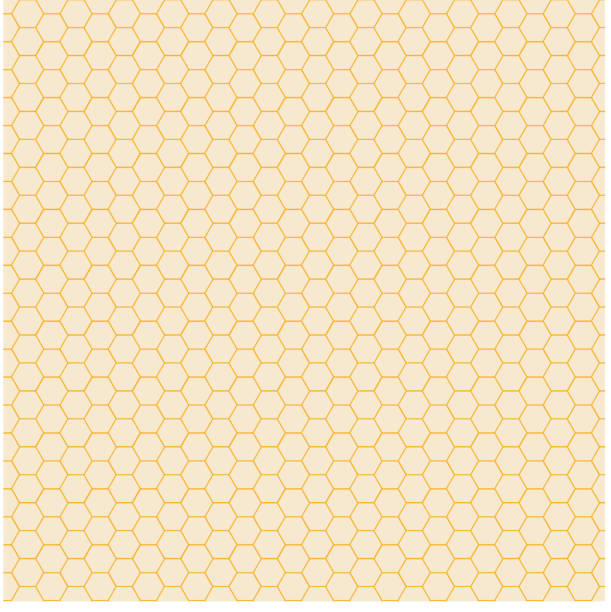 Abstract yellow hexagon pattern background. Honeycomb texture. Abstract yellow hexagon pattern background. Honeycomb texture. Vector illustration beehive stock illustrations