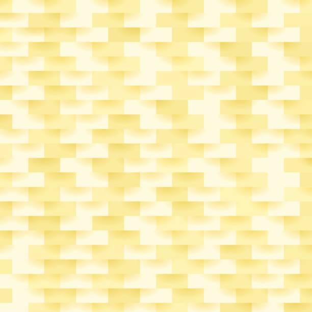 Abstract Yellow Pattern vector art illustration