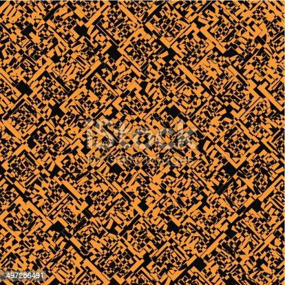 abstract yellow pattern with black background for design.(ai eps10 with transparency effect)