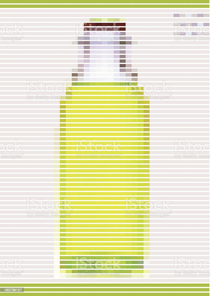 abstract yellow stripe style bottle pattern background royalty-free abstract yellow stripe style bottle pattern background stock vector art & more images of abstract
