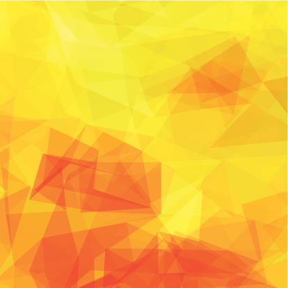 abstract yellow transparency shape background