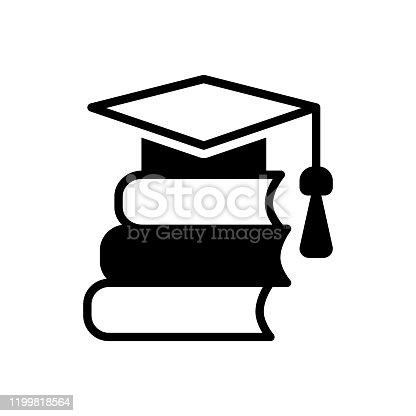 Icon for academic, educational, instructional, scholastic, scriptural, pedagogical, bookish, savant, studious